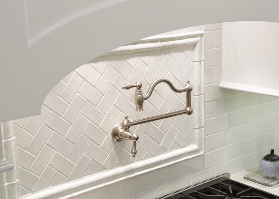 Willmette Project Floro Flosi Design Handcrafted Ceramic Tiles